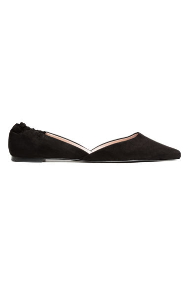 Pointed flats - Black -  | H&M CN