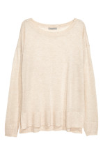 Light beige marl