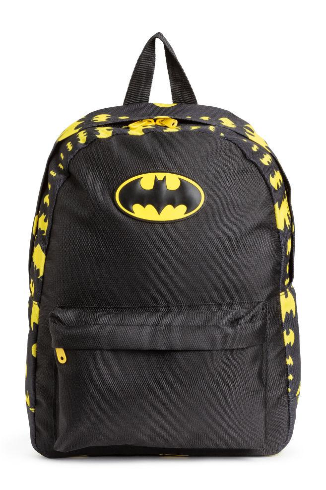 Printed Backpack Black Batman Kids H M