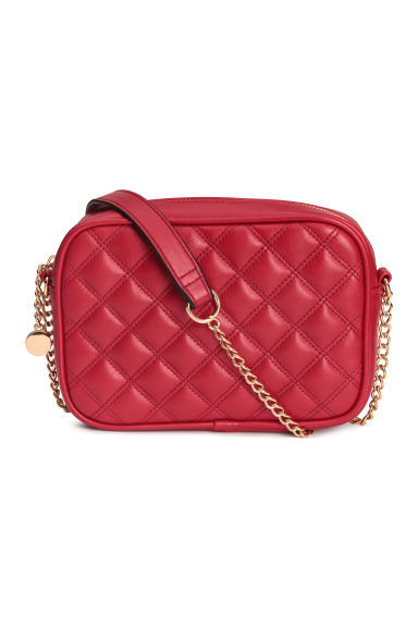 Quilted shoulder bag - Red - Ladies | H&M