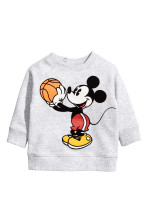 Gris claro/Mickey Mouse