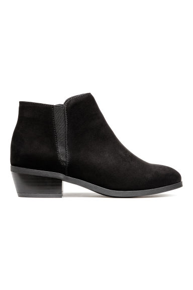 Boots with a zip - Black -  | H&M CN