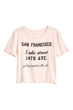 Powder pink/San Francisco