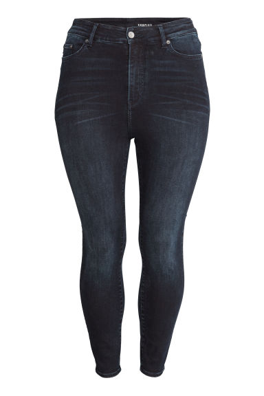 H&M+ Shaping Skinny High Jeans - Donkerblauw - DAMES | H&M BE