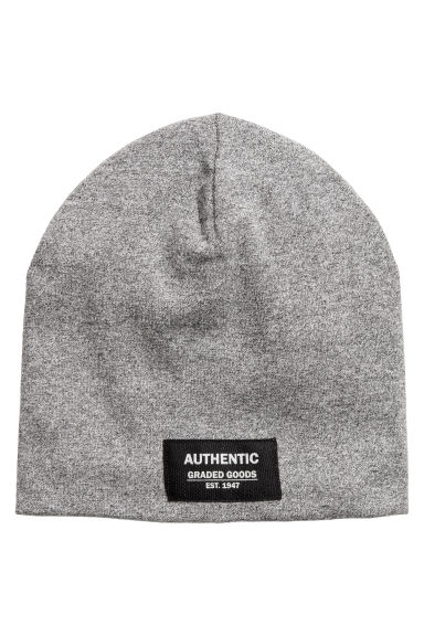 Jersey hat - Dark grey - Kids | H&M CN