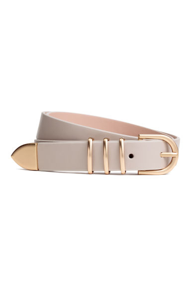 Narrow belt - Light powder beige - Ladies | H&M GB