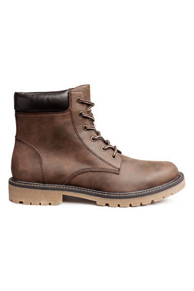Chunky-soled boots - Brown -  | H&M IE