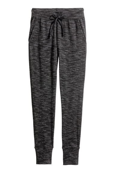 Joggers - Black marl -  | H&M IE