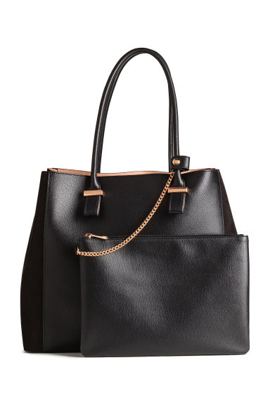 Shopper and clutch - Black - Ladies | H&M