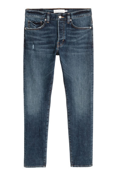 Slim Jeans - Dark denim blue -  | H&M IE