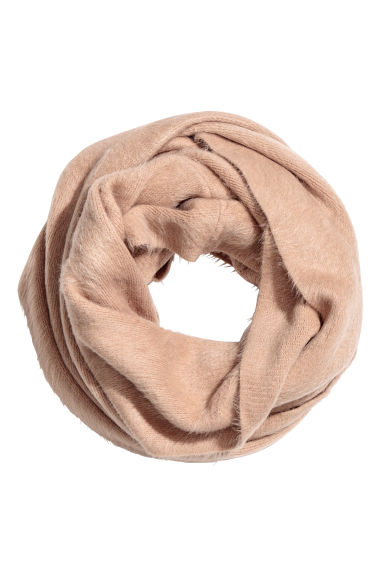Gebreide snood - Beige - DAMES | H&M BE