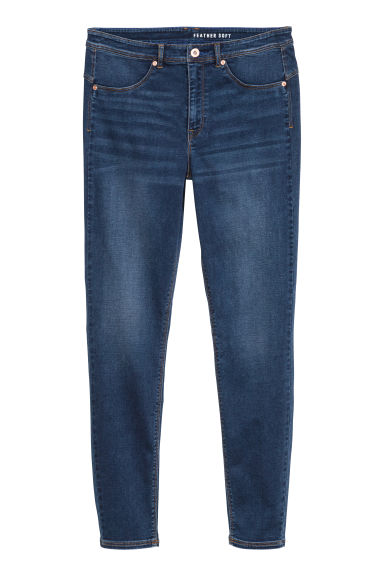 H&M+ Feather Soft Jeggings - Dunkles Denimblau -  | H&M CH