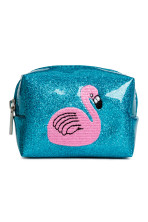 Bright blue/Flamingo