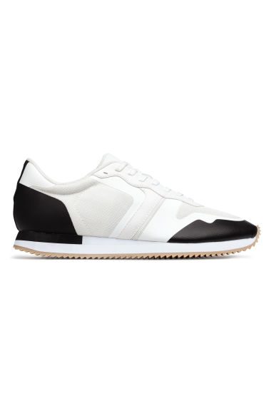 Mesh trainers - White/Black -  | H&M IE