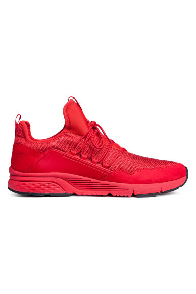 Mesh trainers - Red -  | H&M