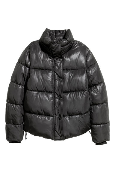 Padded jacket - Black -  | H&M CN