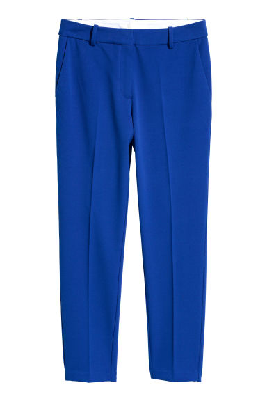 Cigarette trousers - Blue - Ladies | H&M GB