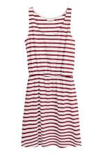 White/Red striped