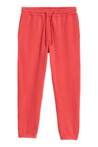 Sweatpants - Bright red -  | H&M