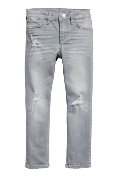 Skinny fit Jeans - Gris chiné - ENFANT | H&M BE