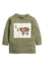 Khaki green/Bear