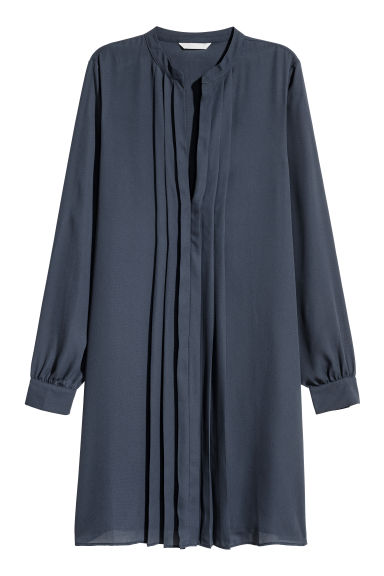 V-neck dress - Dark blue - Ladies | H&M