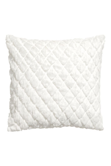 Quilted cushion cover - White - Home All | H&M GB