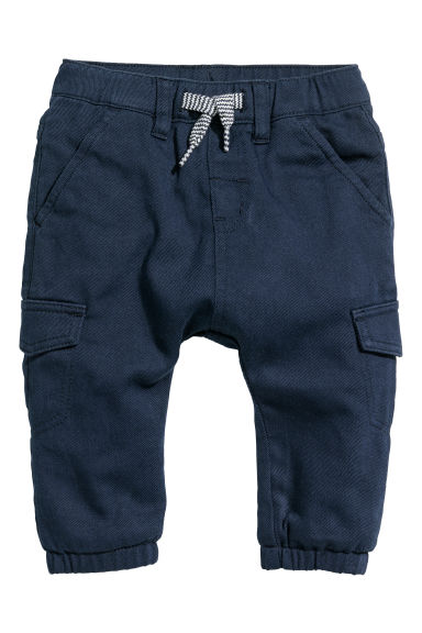 Pull-on trousers - Dark blue - Kids | H&M CN