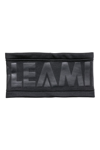 Headband with fleece - Black -  | H&M GB