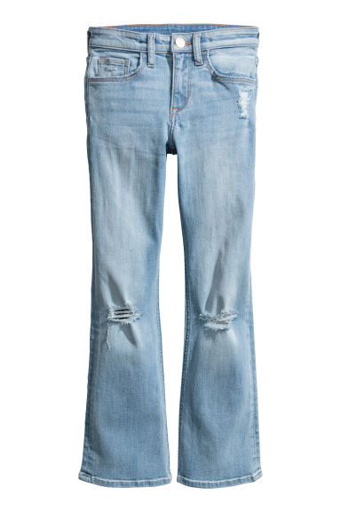 Boot cut Jeans - Light denim blue - Kids | H&M