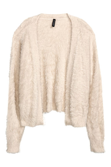 Knitted cardigan - Light beige - Ladies | H&M
