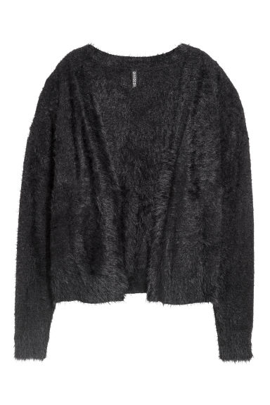 Knitted cardigan - Black -  | H&M IE