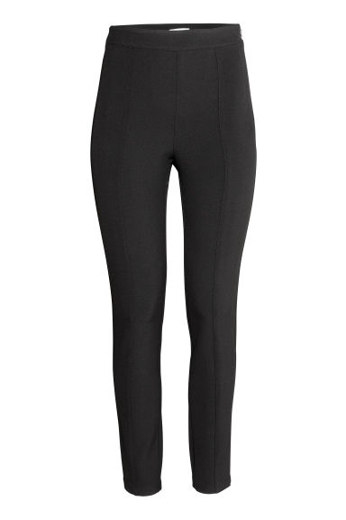 Tregging - High waist - Zwart - DAMES | H&M NL