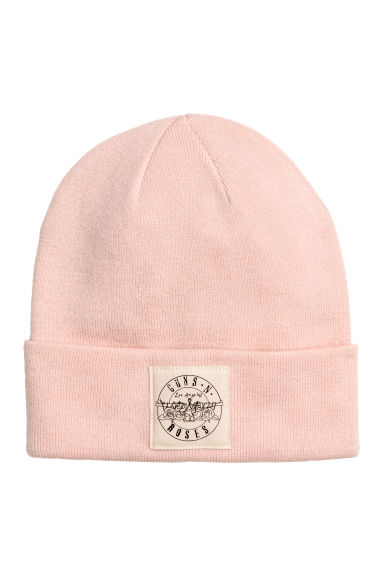 Fine-knit hat - Powder pink - Ladies | H&M