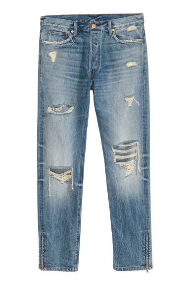 Original Straight Jeans - Blu denim - UOMO | H&M IT