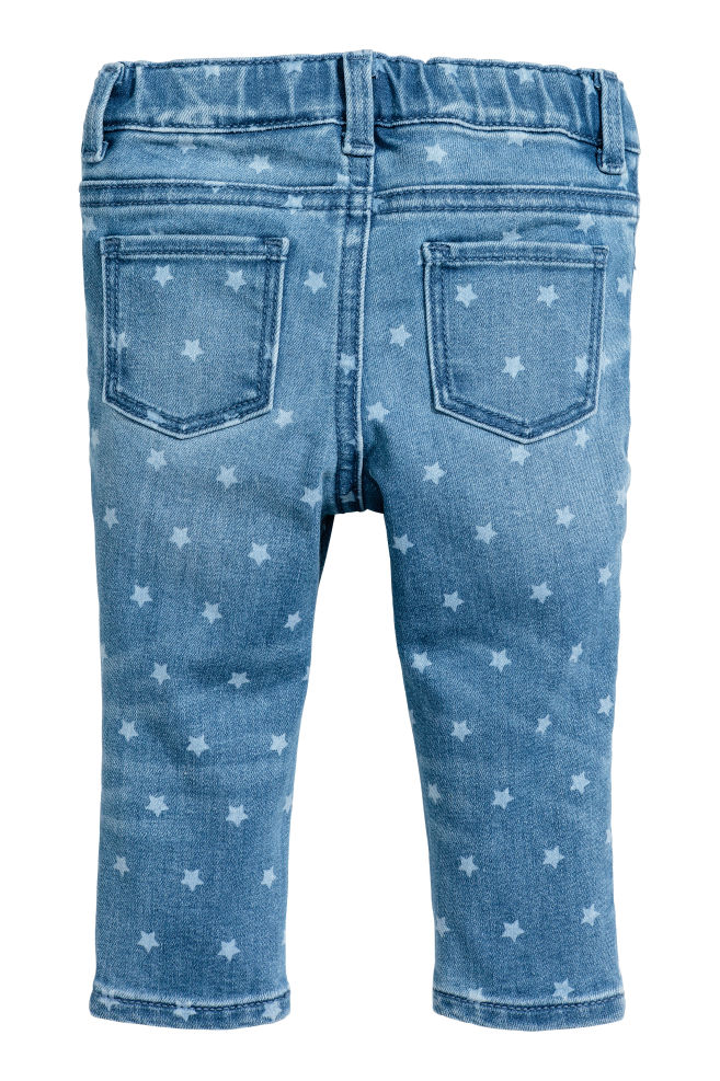 f0ffc0c4fbab3 Vaquero motivo de estrellas - Azul denim Estrellas - NIÑOS