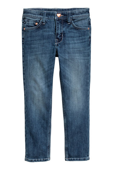 Reinforced Slim fit Jeans - Dark denim blue -  | H&M GB