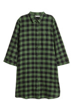 Green/Black checked
