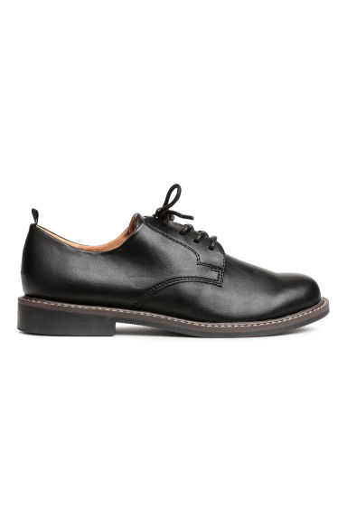 Derby shoes - Black - Kids | H&M