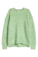 Light green marl