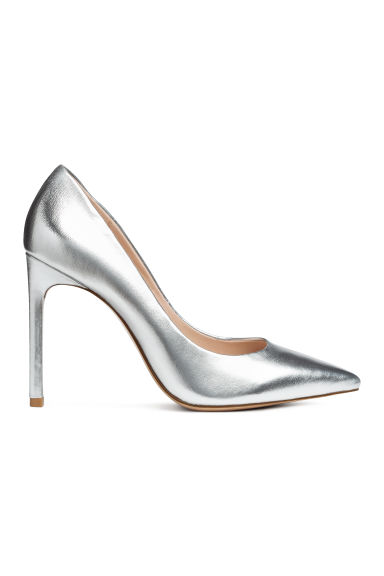 Court shoes - Silver-coloured - Ladies | H&M CN