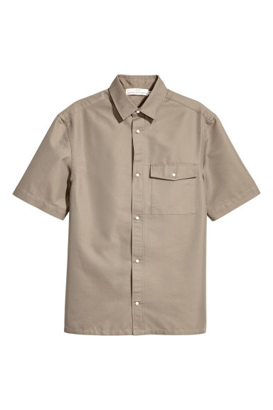 Short-sleeved shirt - Mole -  | H&M