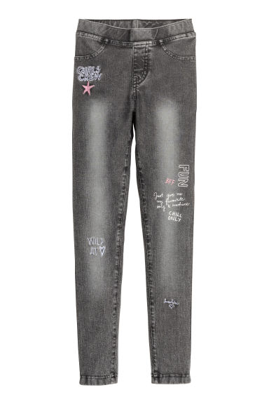 Treggings - Dark grey - Kids | H&M CN