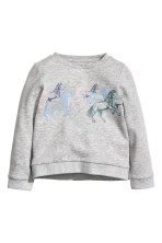 Light grey/Horse