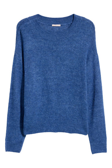 H&M+ Knitted jumper - Cornflower blue - Ladies | H&M