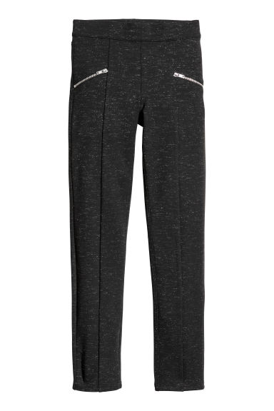 Leggings - Negro/Brillante -  | H&M ES
