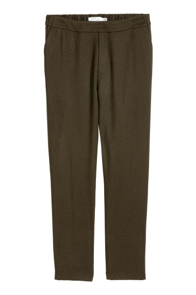 Pull-on trousers - Brown -  | H&M CN