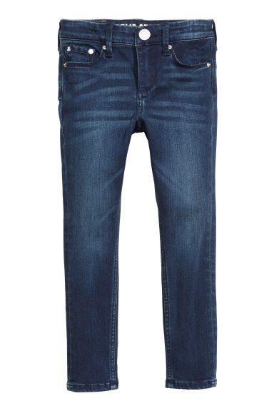 Supreme Stretch Skinny Jeans - Donker denimblauw -  | H&M BE