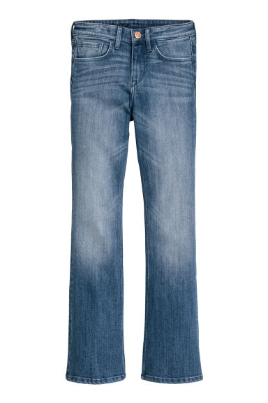 Boot cut Jeans - Denimblauw - KINDEREN | H&M BE