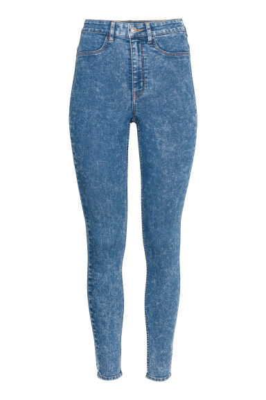 Super Skinny High Jeans - ブルー washed out -  | H&M JP